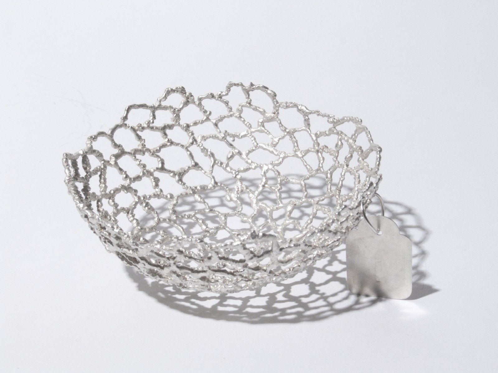 Irregular Wire Bowl