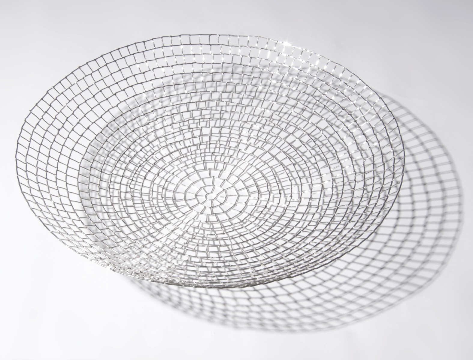 Large Silver Wire Bowl